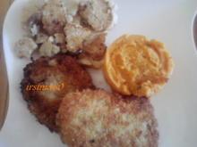 Gebratener Blumenkohl an Süßkartoffelstampf - Rezept