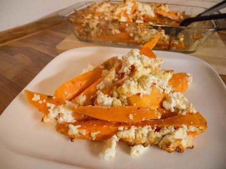Ofen-Süßkartoffeln - Rezept