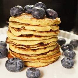 3-Zutaten Paleo-Pancakes - Rezept