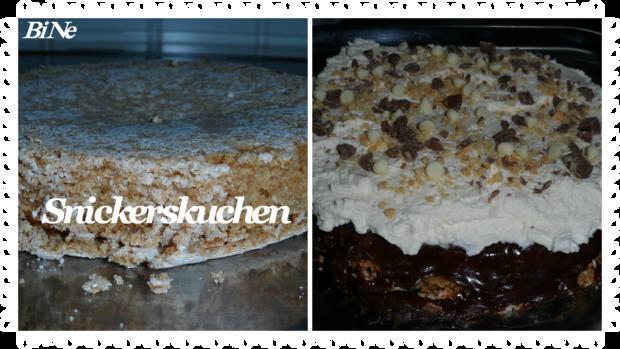 BiNe` S SNICKERSKUCHEN - Rezept - Bild Nr. 2