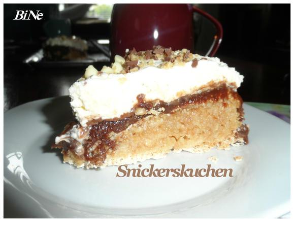 BiNe` S SNICKERSKUCHEN - Rezept - Bild Nr. 11