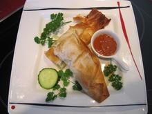 Gemüsemix als kleiner Fisch (Filoteig) - Rezept - Bild Nr. 7