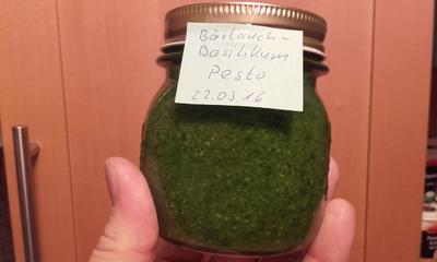 Bärlauch-Basilikum-Pesto - Rezept - Bild Nr. 7