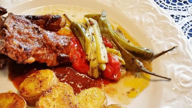 Frühlingszwiebeln mit Chilischoten und Tomaten - Rezept - Bild Nr. 7