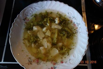 Geselchte Gemüsesuppe; - Rezept - Bild Nr. 3