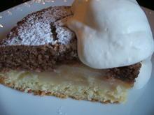 Backen: Apfel-Nuss-Kuchen in drei Schichten - Rezept