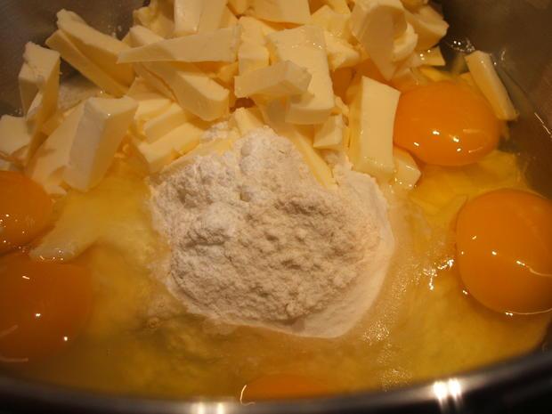 Backen: Apfel-Nuss-Kuchen in drei Schichten - Rezept - Bild Nr. 2