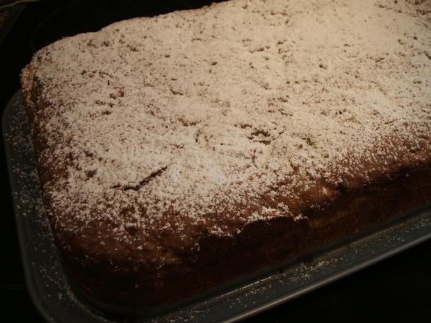 Backen: Apfel-Nuss-Kuchen in drei Schichten - Rezept - Bild Nr. 7