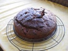 Schoko Kuchen mit Sauerkirschen - Rezept