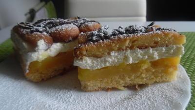 Biskotten-Orangen-Schnitten - Rezept
