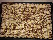 Blechkuchen mit Sahne und Orangenpudding - Rezept - Bild Nr. 6