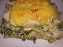 Lachs - Spinat Lasagne - Rezept - Bild Nr. 6