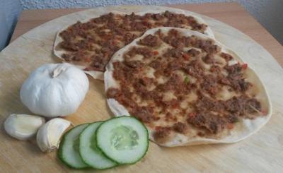 Lahmacun - Türkische Pizza - Rezept - Bild Nr. 7