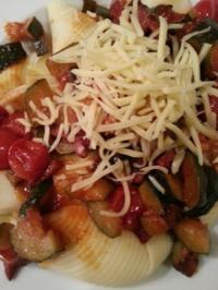 Pasta mit Zucchini Gemüse - Rezept - Bild Nr. 19