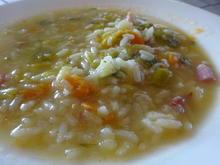 Reisssuppe - Rezept