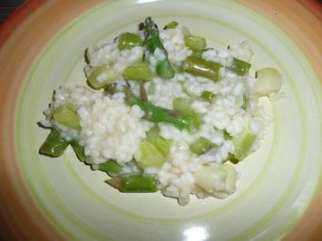 Rezept: Risotto mit grünem Spargel Nr. 2