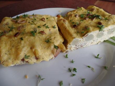 Spargel-Toast - Rezept