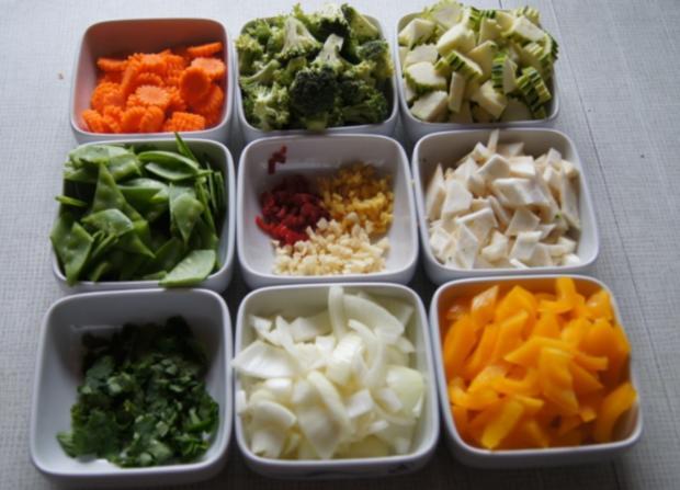 Putenschnitzel mit Wok-Gemüse - Rezept - Bild Nr. 6
