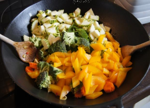 Putenschnitzel mit Wok-Gemüse - Rezept - Bild Nr. 10