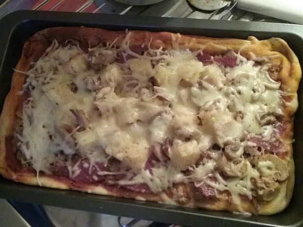 Chrisis Schnelle Pizza Rezept Mit Bild Kochbarde