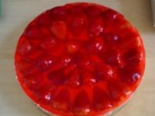 Erdbeer Joghurt Torte - Rezept