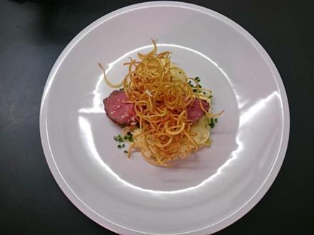 Tafelspitz mit Kartoffelvariationen - Rezept