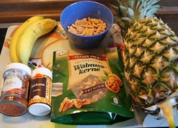 Bananen-Ananas-Smoothie - Rezept - Bild Nr. 2