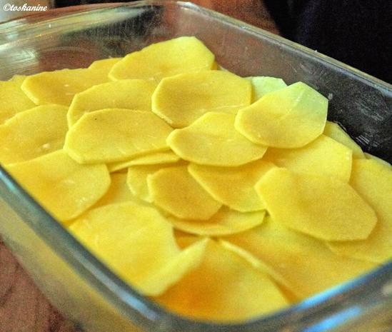 Bärlauch-Kartoffel-Gratin - Rezept - Bild Nr. 5