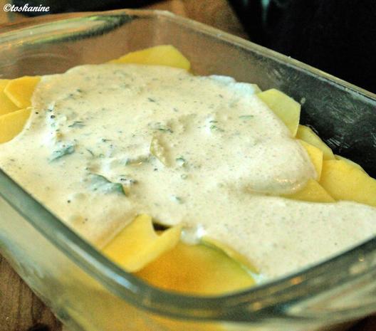 Bärlauch-Kartoffel-Gratin - Rezept - Bild Nr. 7