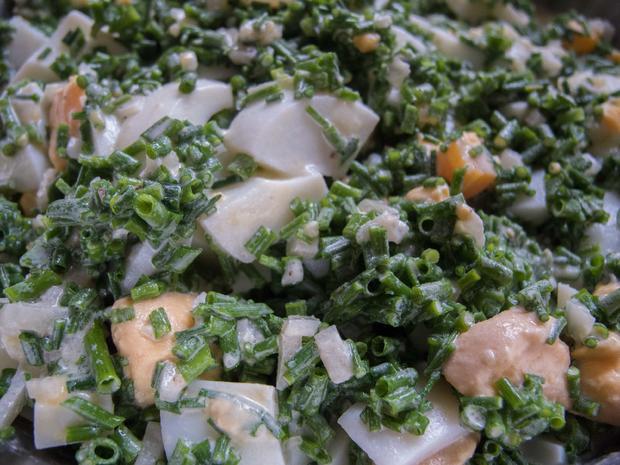 Salat: Schnittlauchsalat   Saarländische Küche   Rezept   Bild Nr. 7