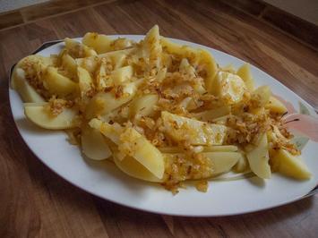 Rezept: Plattgeschmelzde - saarländische Küche