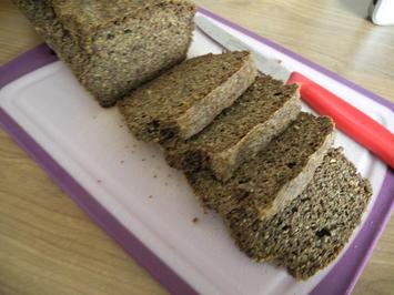 Low Carb Brot / Eiweißbrot - Rezept