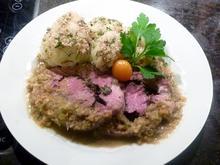 Lammgigot mit Tapenade & Kräuter - Rezept