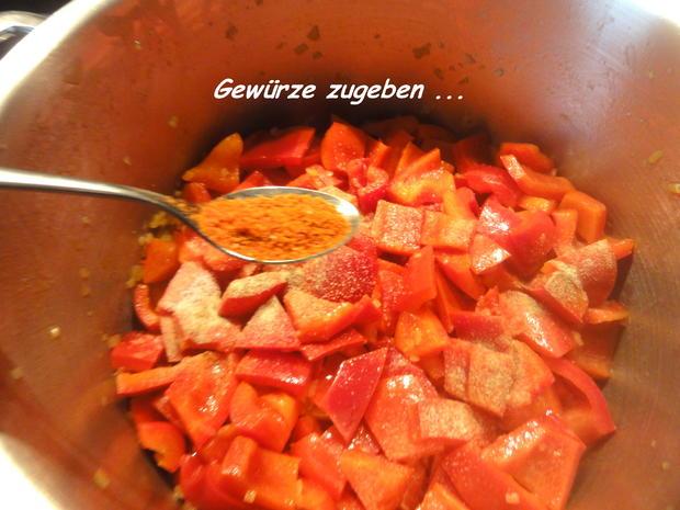 Sauce:   PAPRIKAPASTE  (meine Ajvarpaste) - Rezept - Bild Nr. 4