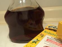 Kräutersirup ohne Zucker - Rezept