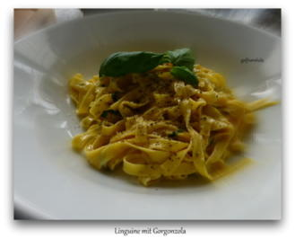 Linguine mit geschmolzenem Gorgonzola - Rezept