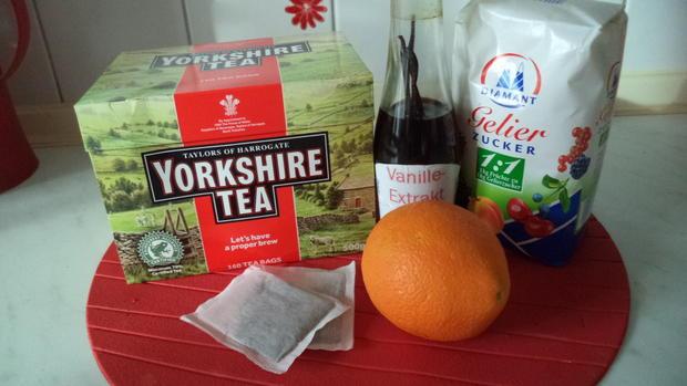 Tee-Gelee Orange-Vanille - Rezept - Bild Nr. 2