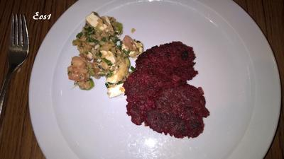 Rezept: Rote-Bete-Puffer