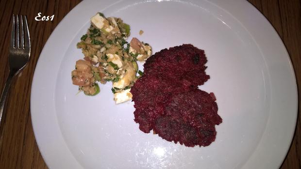 Rote-Bete-Puffer - Rezept