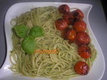 Spaghetti mit Pesto alla Genovese - Rezept