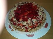 Erdbeer-Makronen-Torte - Rezept