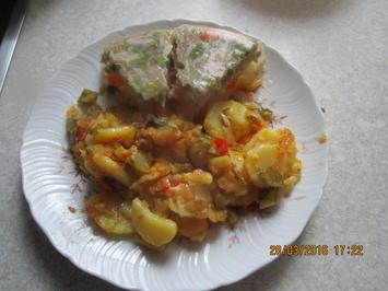 Arnim's Bratkartoffeln mit Sülze - Rezept