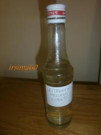 Rezept: Zitronenmelissen - Sirup
