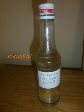 Zitronenmelissen - Sirup - Rezept