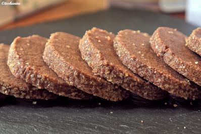 Rezept: Schokoladen-Heidesand mit Tonkabohne