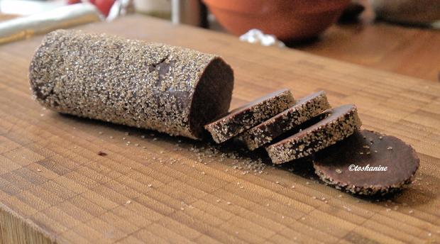 Schokoladen-Heidesand mit Tonkabohne - Rezept - Bild Nr. 10