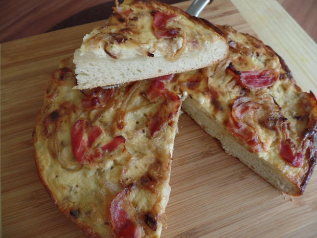 Zwiebel-Speck-Kuchen - Rezept