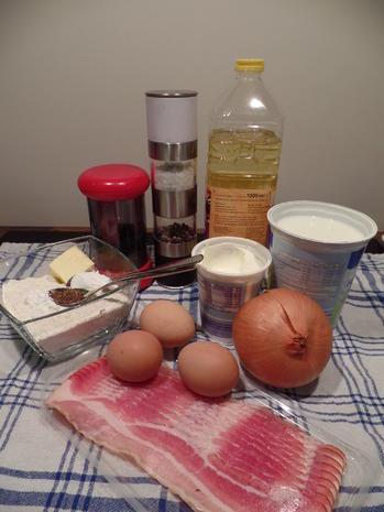 Zwiebel-Speck-Kuchen - Rezept - Bild Nr. 2