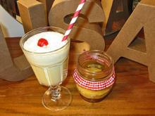 Pumpkin Cheesecake im Glas und Milchshakes für Erwachsene - Rezept