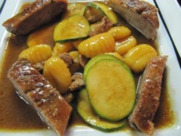 Entenbrust mit Zucchini Gemüse à la Biggi - Rezept - Bild Nr. 10